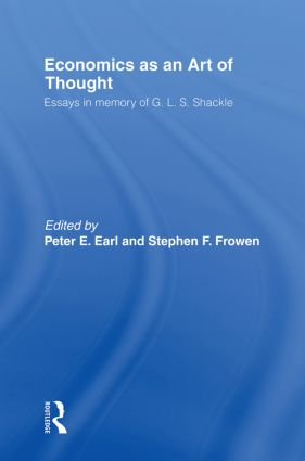 Economics as an Art of Thought: Essays in Memory of G.L.S. Shackle (Paperback) book cover