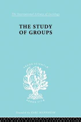 The Study of Groups: 1st Edition (Paperback) book cover