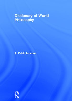 Dictionary of World Philosophy: 1st Edition (Paperback) book cover