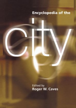 Encyclopedia of the City: 1st Edition (Paperback) book cover