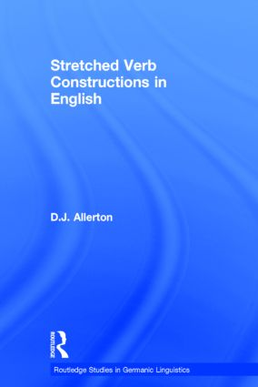 Stretched Verb Constructions in English book cover