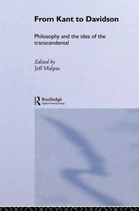 From Kant to Davidson: Philosophy and the Idea of the Transcendental (Hardback) book cover