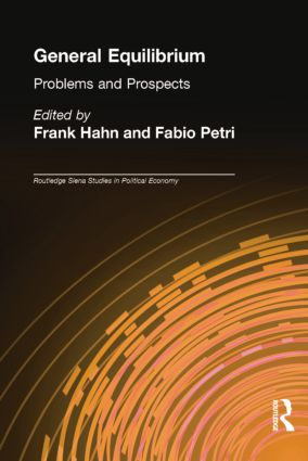 General Equilibrium: Problems and Prospects book cover