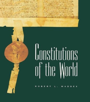 Constitutions of the World: 1st Edition (Paperback) book cover