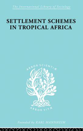 Sett Scheme Trop Africa Ils 70: 1st Edition (Paperback) book cover
