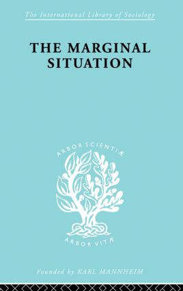 Marginal Situation Ils 112: 1st Edition (Paperback) book cover