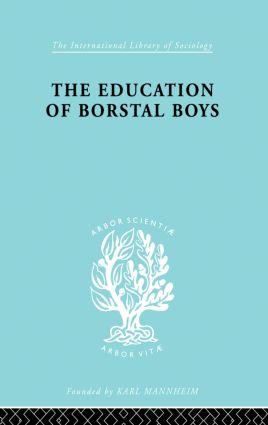 Educ Borstal Boys Ils 204: 1st Edition (Paperback) book cover