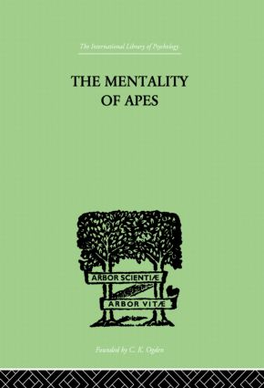 The Mentality of Apes: 1st Edition (Paperback) book cover