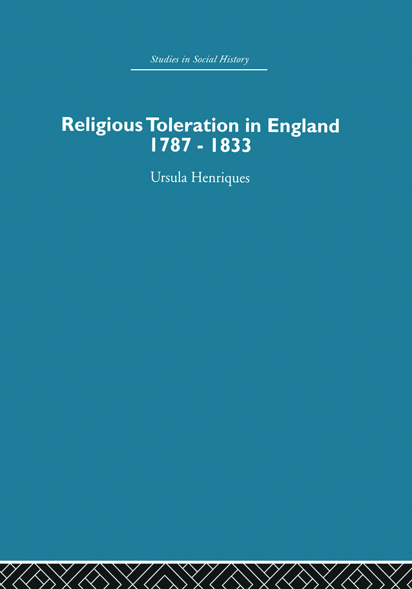 Religious Toleration in England