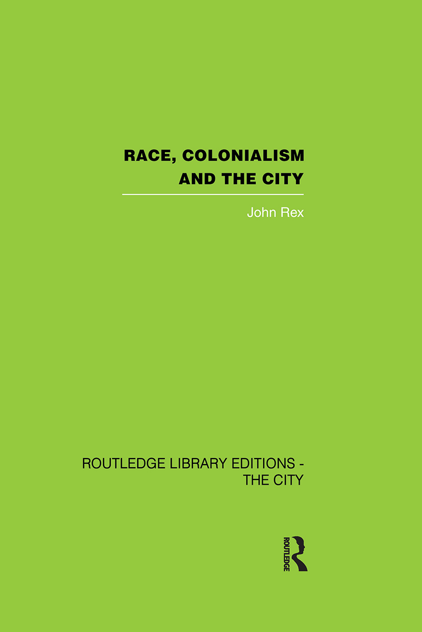 Race, Colonialism and the City: 1st Edition (Paperback) book cover