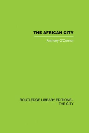 The African City: 1st Edition (Paperback) book cover