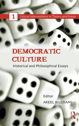 Democratic Culture: Historical and Philosophical Essays (e-Book) book cover