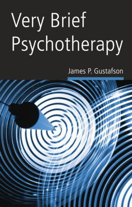 Very Brief Psychotherapy: 1st Edition (Paperback) book cover
