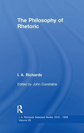 Philosophy Rhetoric        V 7