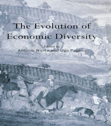 The Evolution of Economic Diversity book cover