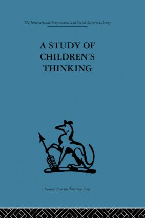 A Study of Children's Thinking (Paperback) book cover