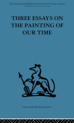 Three Essays on the Painting of our Time (e-Book) book cover