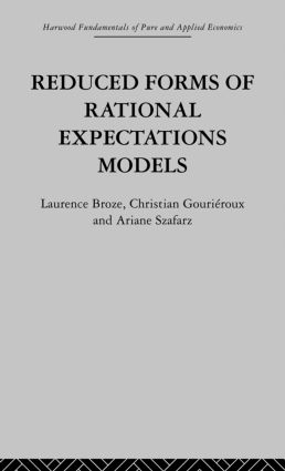 Reduced Forms of Rational Expectations Models