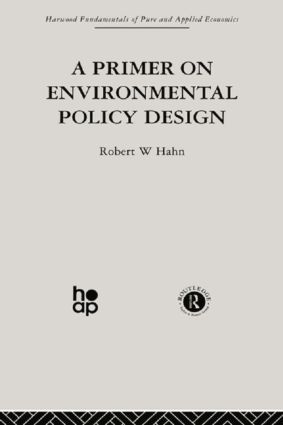 A Primer on Environmental Policy Design
