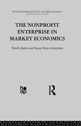 The Non-profit Enterprise in Market Economics (Paperback) book cover