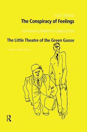 The Conspiracy of Feelings and The Little Theatre of the Green Goose (Paperback) book cover