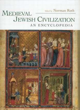 Medieval Jewish Civilization: An Encyclopedia (Paperback) book cover