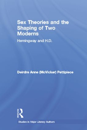 Sex Theories and the Shaping of Two Moderns (Paperback) book cover