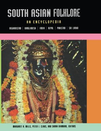 South Asian Folklore: An Encyclopedia (Paperback) book cover