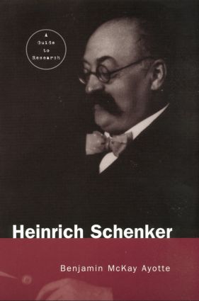 Heinrich Schenker: A Research and Information Guide book cover