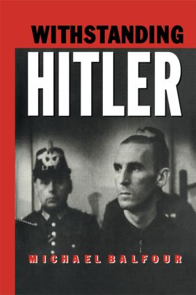 Withstanding Hitler (Paperback) book cover