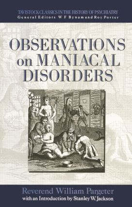 Observations on Maniacal Disorder
