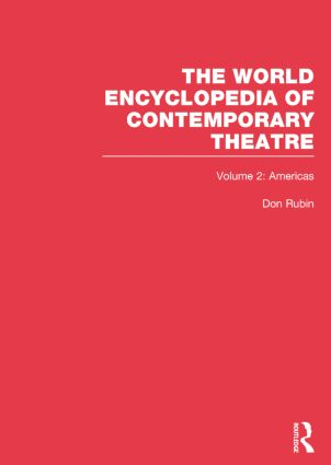 World Encyclopedia of Contemporary Theatre: Volume 2: The Americas (Paperback) book cover