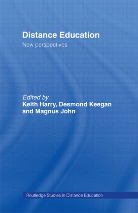 Distance Education: New Perspectives: 1st Edition (Paperback) book cover