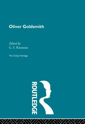 Oliver Goldsmith: The Critical Heritage (Paperback) book cover