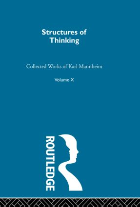 Structures Of Thinking V10: 1st Edition (Paperback) book cover