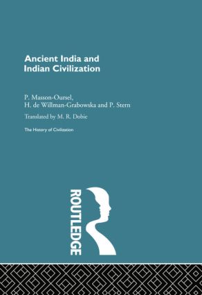Ancient India and Indian Civilization: 1st Edition (Paperback) book cover