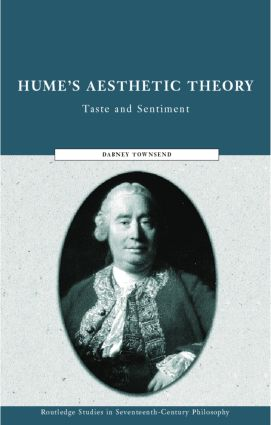 Hume's Aesthetic Theory: Sentiment and Taste in the History of Aesthetics book cover
