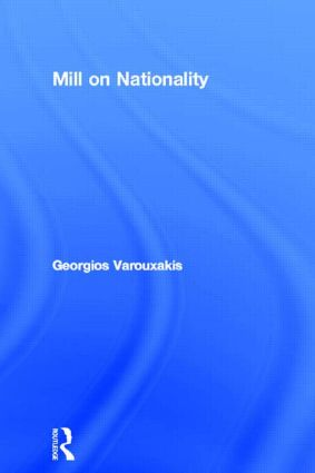 Mill on Nationality book cover