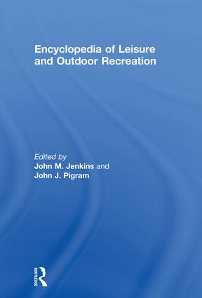 Encyclopedia of Leisure and Outdoor Recreation: 1st Edition (Paperback) book cover