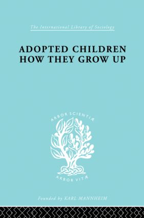 Adopted Children Ils 123: 1st Edition (Paperback) book cover