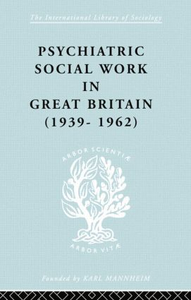 Psych Soc Work Gt Brit Ils 264 book cover