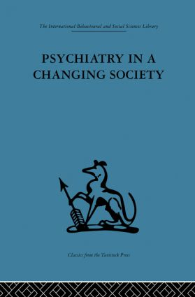 Psychiatry in a Changing Society