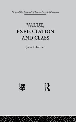 Value, Exploitation and Class: 1st Edition (Paperback) book cover