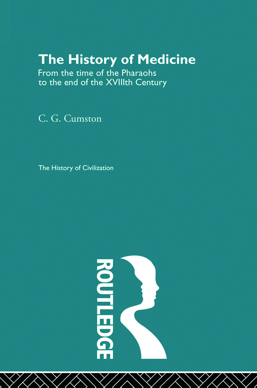 The History of Medicine (Paperback) book cover