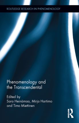 Phenomenology and the Transcendental book cover