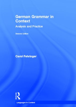German Grammar in Context, Second Edition book cover