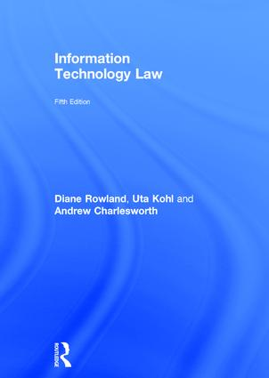 Information Technology Law book cover