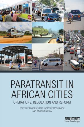 Paratransit in African Cities: Operations, Regulation and Reform (Paperback) book cover