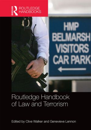 Routledge Handbook of Law and Terrorism (Hardback) book cover