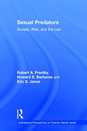Sexual Predators: Society, Risk, and the Law book cover